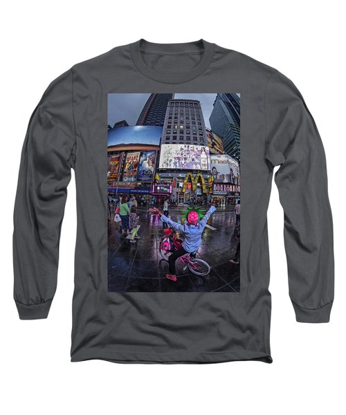 Long Sleeve T-Shirt featuring the photograph New York Soho  by Juergen Held