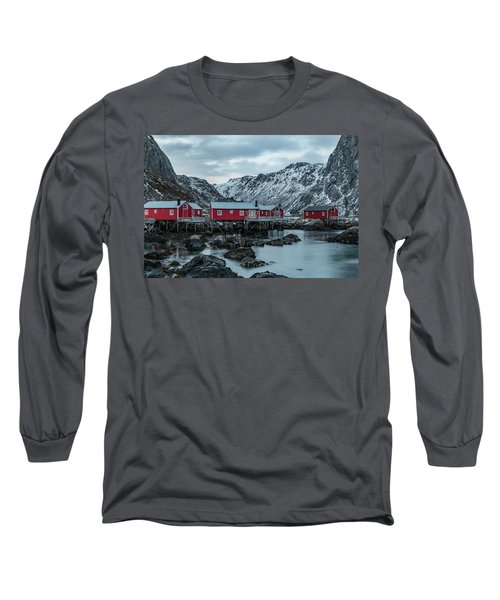 Nusfjord, Lofoten - Norway Long Sleeve T-Shirt