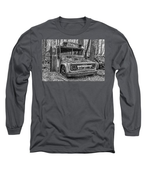 Old School Bus Long Sleeve T-Shirt