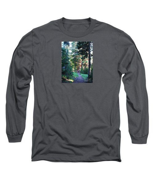 On A Hike Long Sleeve T-Shirt by Michele Penner
