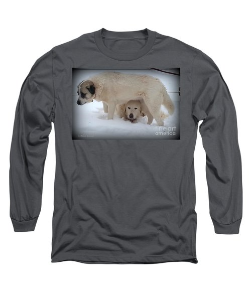 Peek A Boo Long Sleeve T-Shirt
