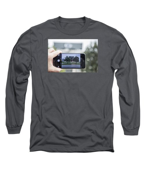 Penn State Beaver Stadium  Long Sleeve T-Shirt by John McGraw