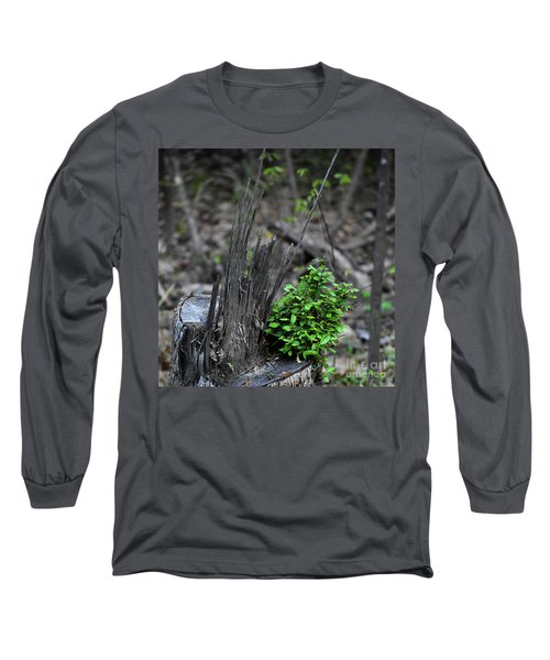 Long Sleeve T-Shirt featuring the photograph Persistence by Skip Willits