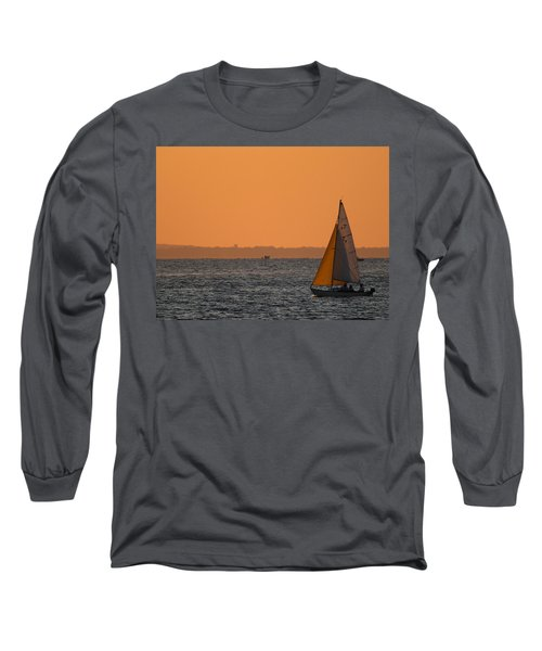 Sailboat Mount Sinai New York Long Sleeve T-Shirt