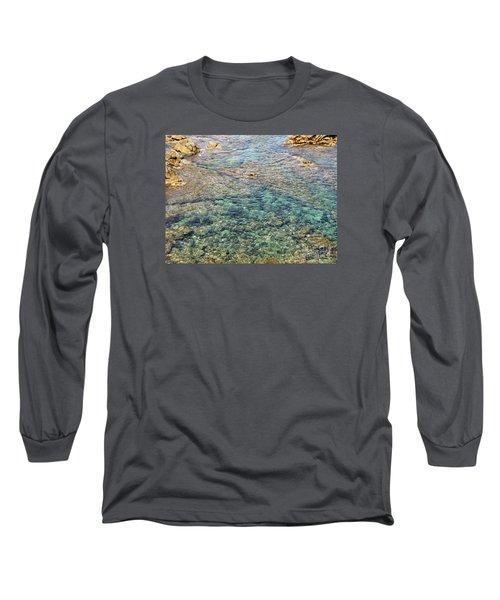 Sea  Long Sleeve T-Shirt by Yury Bashkin