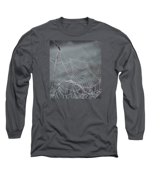 Spiderweb Droplets Long Sleeve T-Shirt