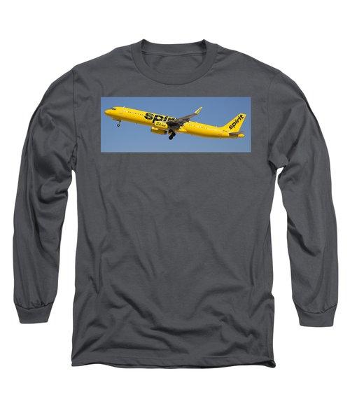 Spirit Airline Long Sleeve T-Shirt