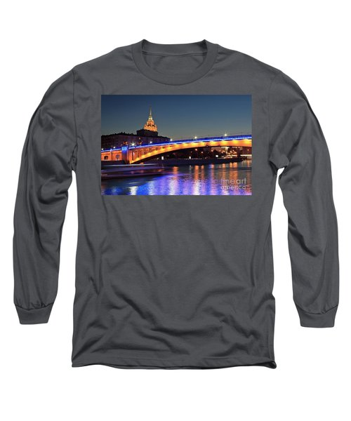 Moscow River Long Sleeve T-Shirt