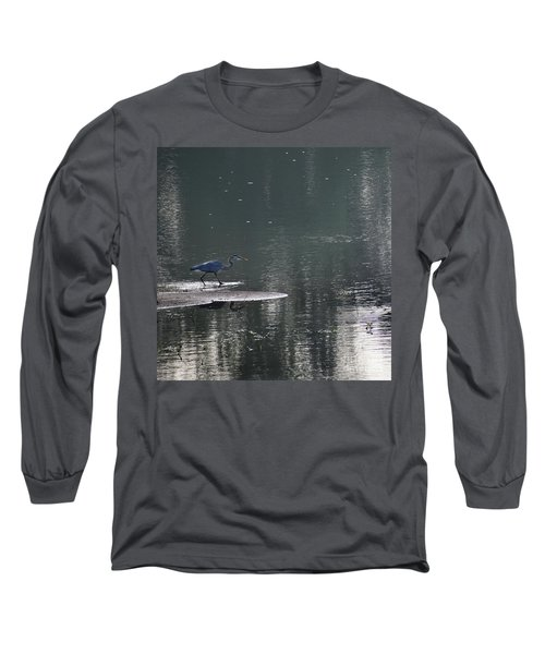 Long Sleeve T-Shirt featuring the photograph Stalker  by Skip Willits