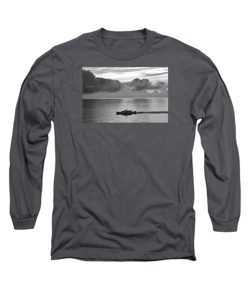 Storm Coming Long Sleeve T-Shirt by Helen Haw