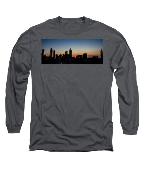 Sunset In Atlanta Long Sleeve T-Shirt