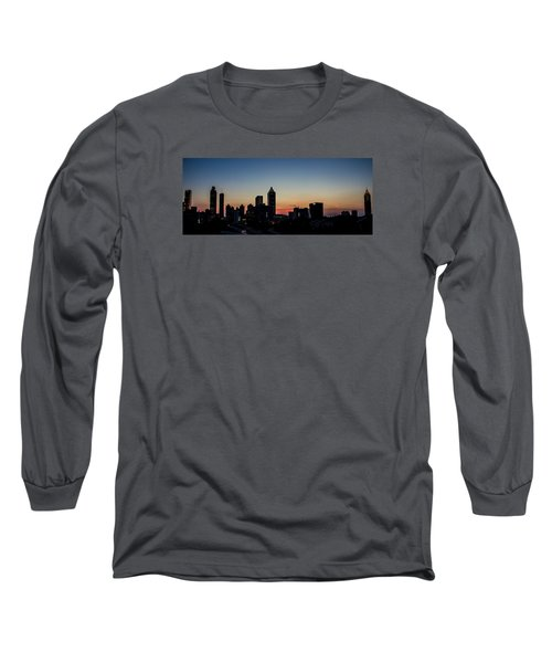 Sunset In Atlanta Long Sleeve T-Shirt