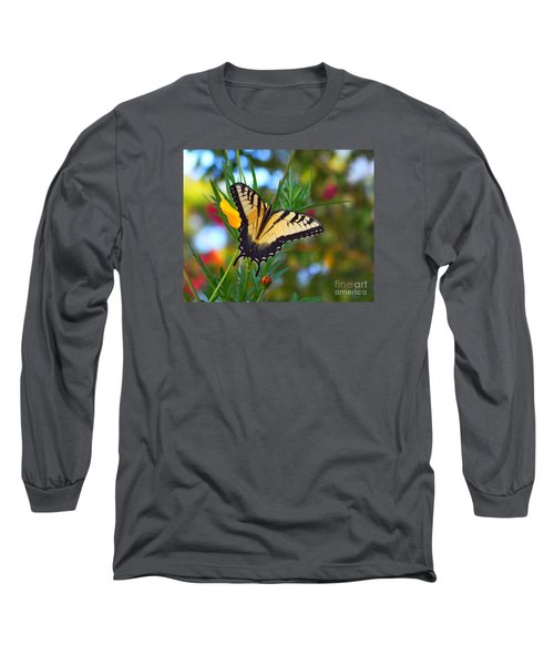 Swallowtail Butterfly Long Sleeve T-Shirt