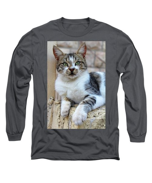 Long Sleeve T-Shirt featuring the photograph The Wait by Munir Alawi