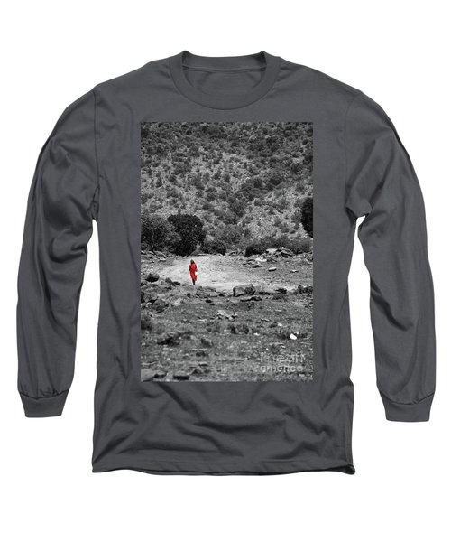 Long Sleeve T-Shirt featuring the photograph Walk  by Charuhas Images