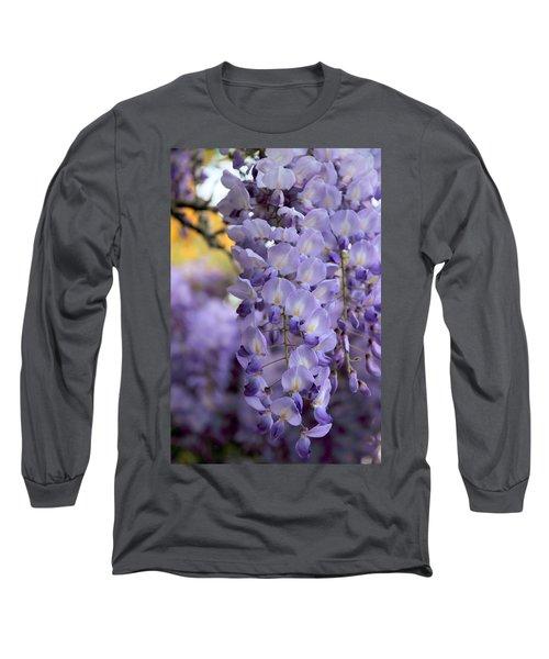 Wisteria Blossom Long Sleeve T-Shirt