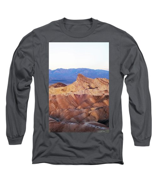 Long Sleeve T-Shirt featuring the photograph Zabriskie Point by Catherine Lau