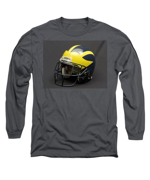 2000s Era Wolverine Helmet Long Sleeve T-Shirt