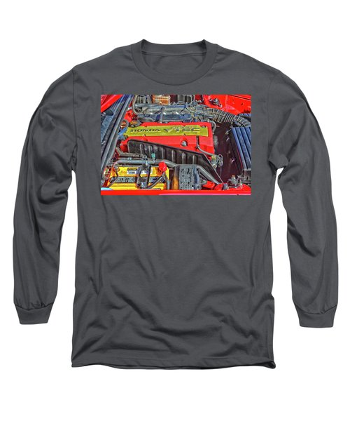 2006 Honda S2000 Engine Long Sleeve T-Shirt