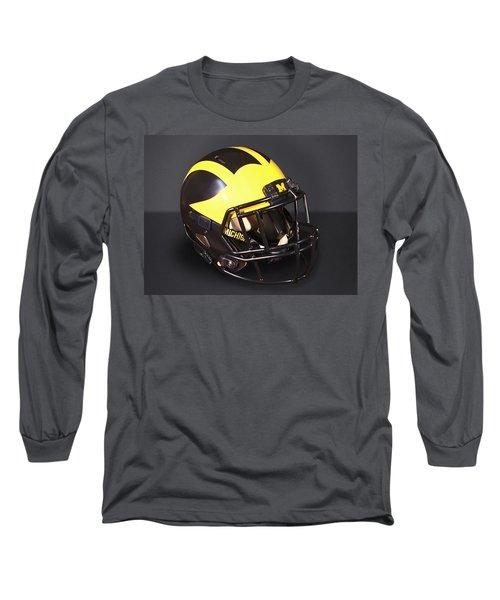 2010s Wolverine Helmet Long Sleeve T-Shirt
