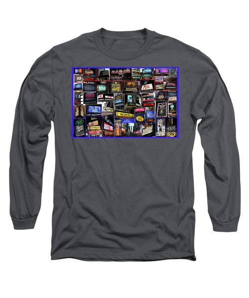 Long Sleeve T-Shirt featuring the photograph 2016 Broadway Spring Collage by Steven Spak