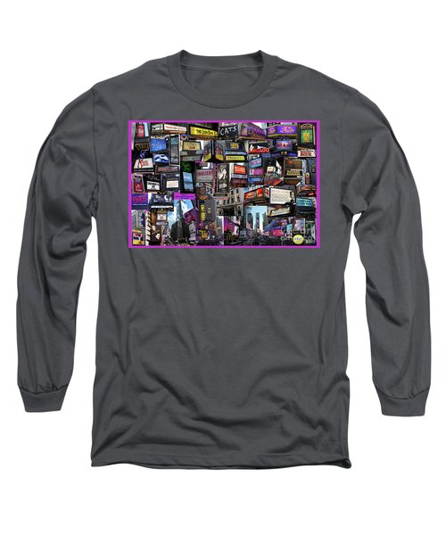 2017 Broadway Spring Collage Long Sleeve T-Shirt