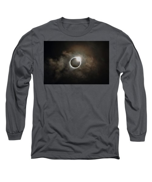 2017 Solar Eclipse Exit Ring Long Sleeve T-Shirt
