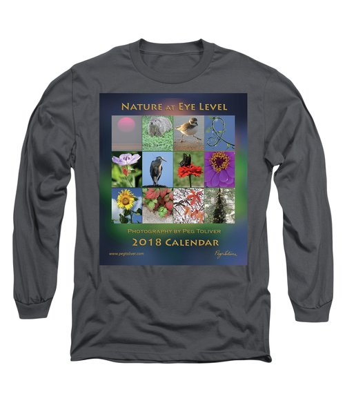 2018 Calendar Thumbprints Long Sleeve T-Shirt