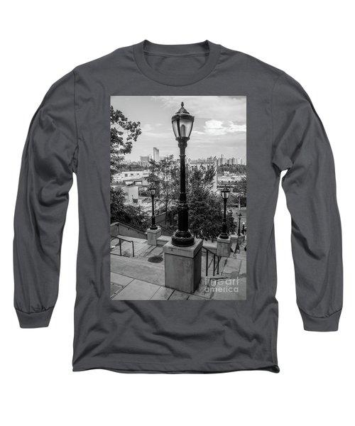215th Street Stairs  Long Sleeve T-Shirt