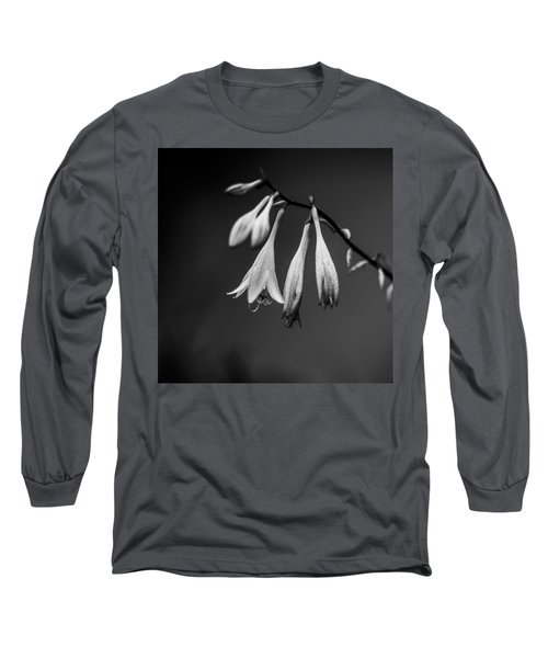 Long Sleeve T-Shirt featuring the photograph Black And White Flower  by Kevin Blackburn