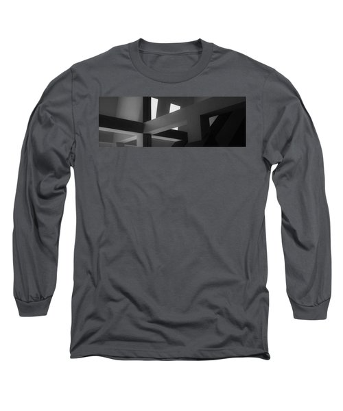 25 Shades Of Grey  Long Sleeve T-Shirt by John Glass