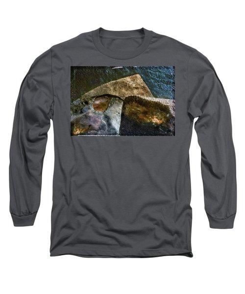 Stone Sharkhead Long Sleeve T-Shirt