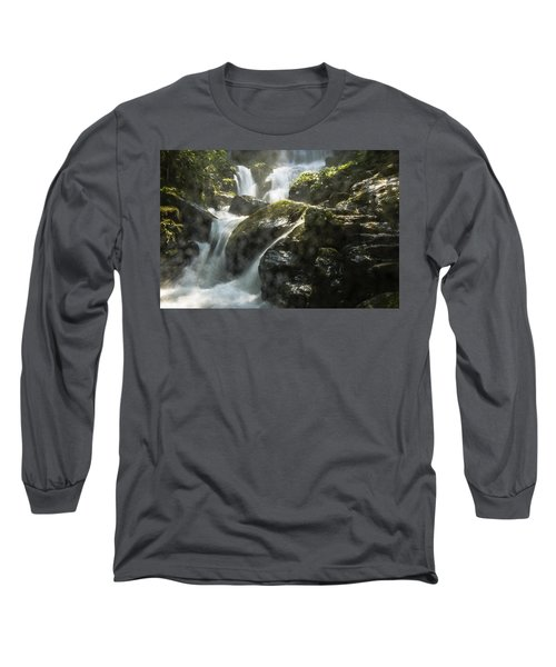 Waterfall Scenery Long Sleeve T-Shirt