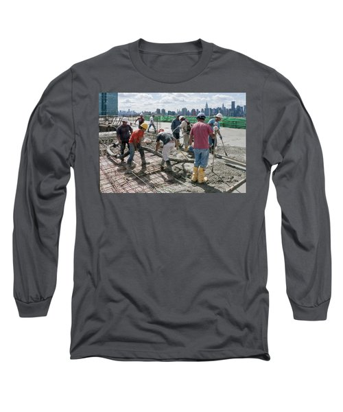 27th Street Lic 1 Long Sleeve T-Shirt by Steve Sahm