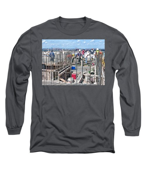 27th Street Lic 2 Long Sleeve T-Shirt by Steve Sahm