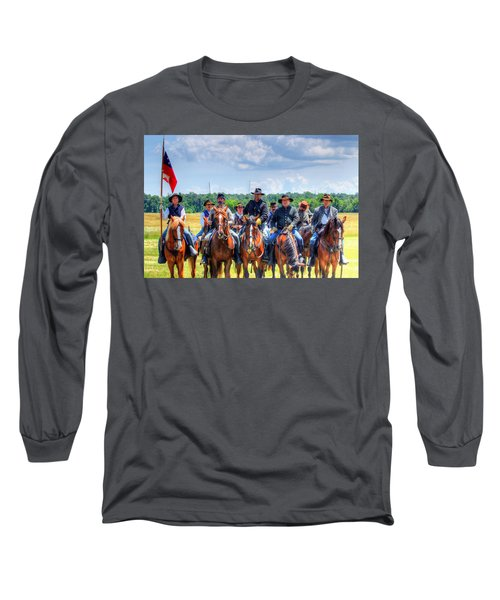 2nd Us Cavalry  Long Sleeve T-Shirt