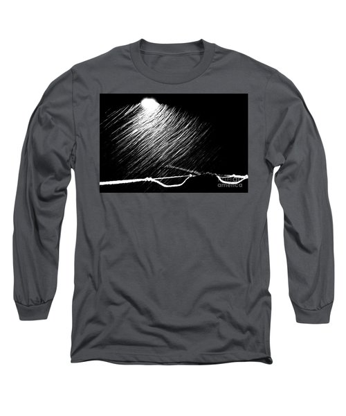 3-21-16 Snow Long Sleeve T-Shirt by Steven Macanka