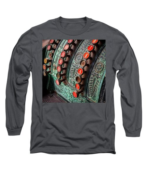 Adding Up Long Sleeve T-Shirt