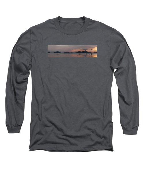 3 Boats Long Sleeve T-Shirt