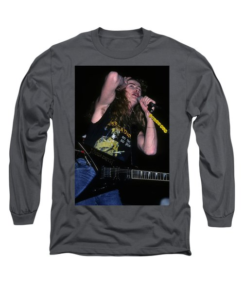 Dave Mustaine Of Megadeth Long Sleeve T-Shirt