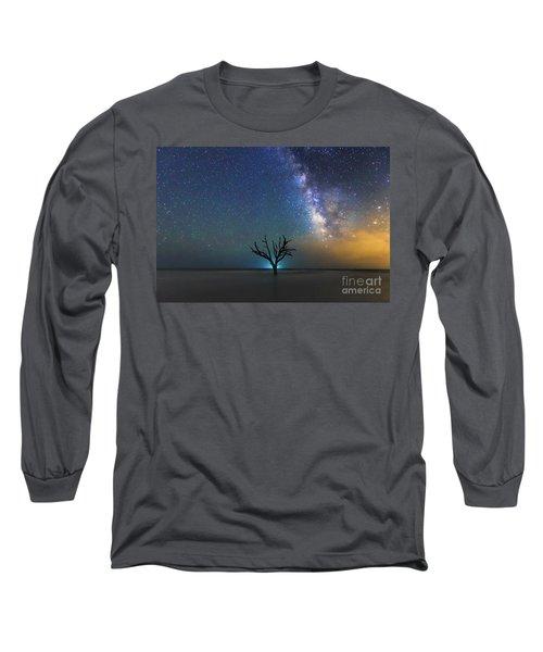 Edisto Island Milky Way Long Sleeve T-Shirt by Robert Loe