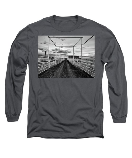 Empty Corrals Long Sleeve T-Shirt by L O C