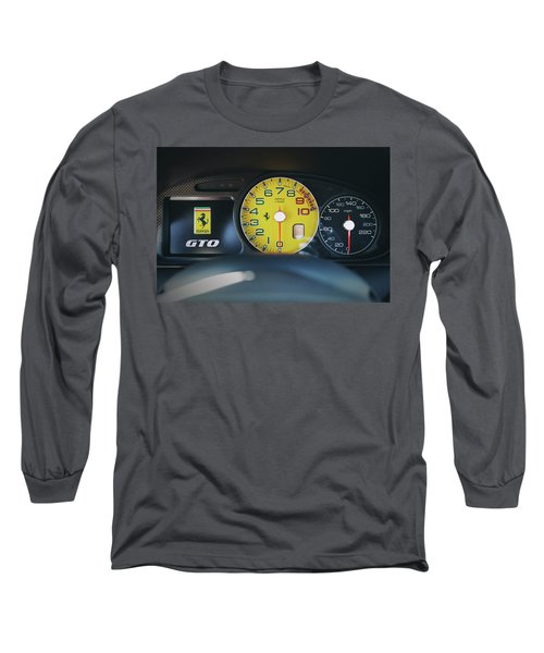 #ferrari #599gto #print Long Sleeve T-Shirt