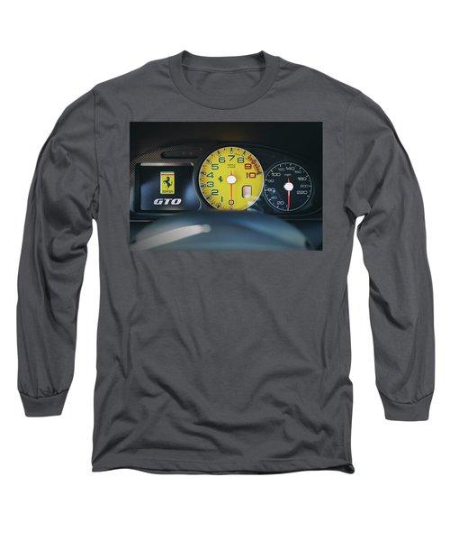 Long Sleeve T-Shirt featuring the photograph #ferrari #599gto #print by ItzKirb Photography