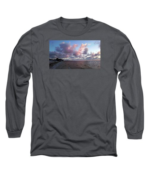 Long Sleeve T-Shirt featuring the photograph Florida Sunset by Vicky Tarcau