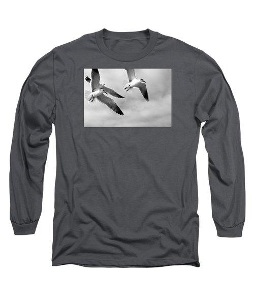 3 Gulls Long Sleeve T-Shirt by Robert Och