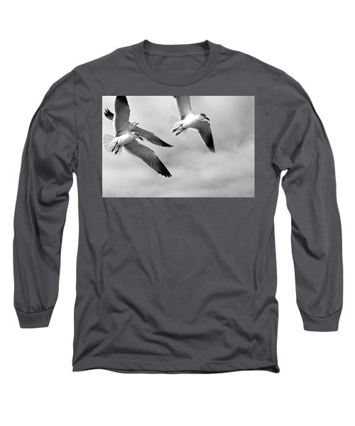 3 Gulls Long Sleeve T-Shirt
