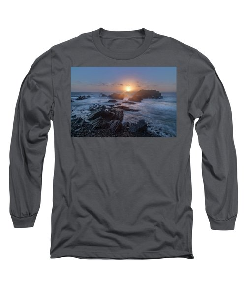 Hartland Quay - England Long Sleeve T-Shirt