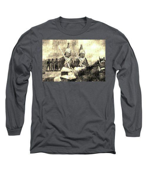 Household Cavalry Changing Of The Guard Vintage Long Sleeve T-Shirt