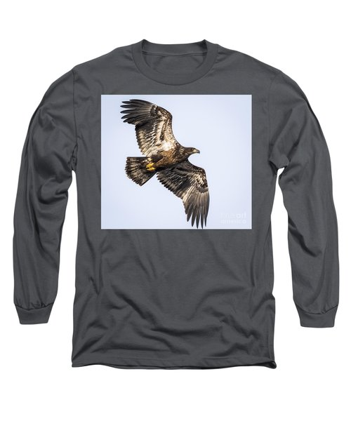 Juvenile Bald Eagle  Long Sleeve T-Shirt